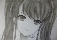 Акадзава Идзуми из аниме Иная карандашом