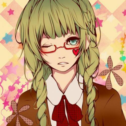 Рисуем аниме арт девушку