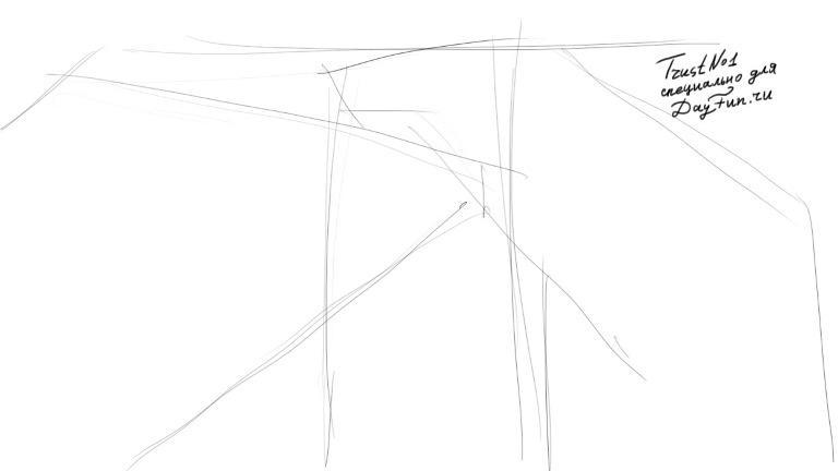Рисуем аниме драку