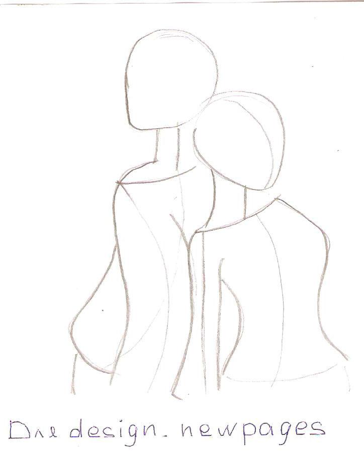 Рисуем пару из Вокалоидов