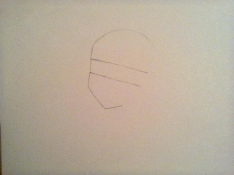 Рисуем красивую Асуну - шаг 1