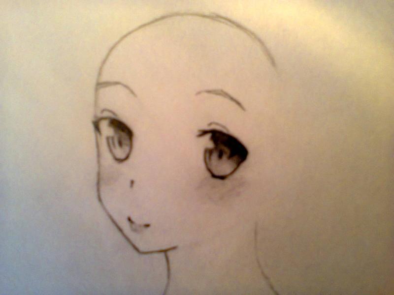 Рисуем красивую Асуну - шаг 2