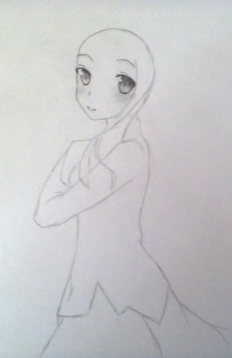 Рисуем красивую Асуну - шаг 5