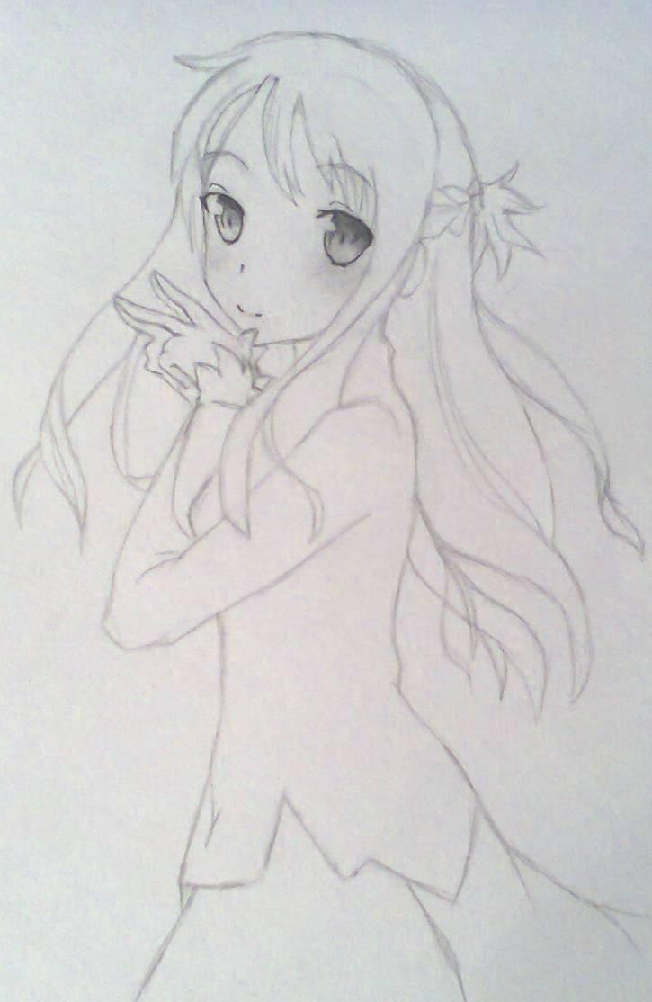 Рисуем красивую Асуну - шаг 7