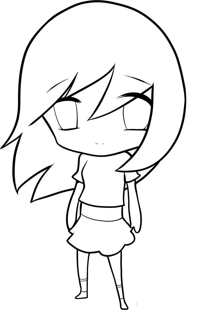 kak_narisovat_chibi_devochku_karandashom_pojetapno-9 Как нарисовать милую чиби девочку карандашом поэтапно