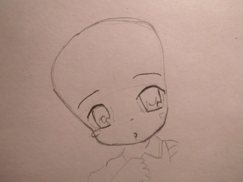 Рисуем Чии из Чобитов