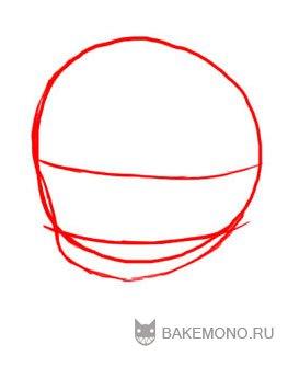 Рисуем девочку-кролика в стиле чиби в полный рост - шаг 3