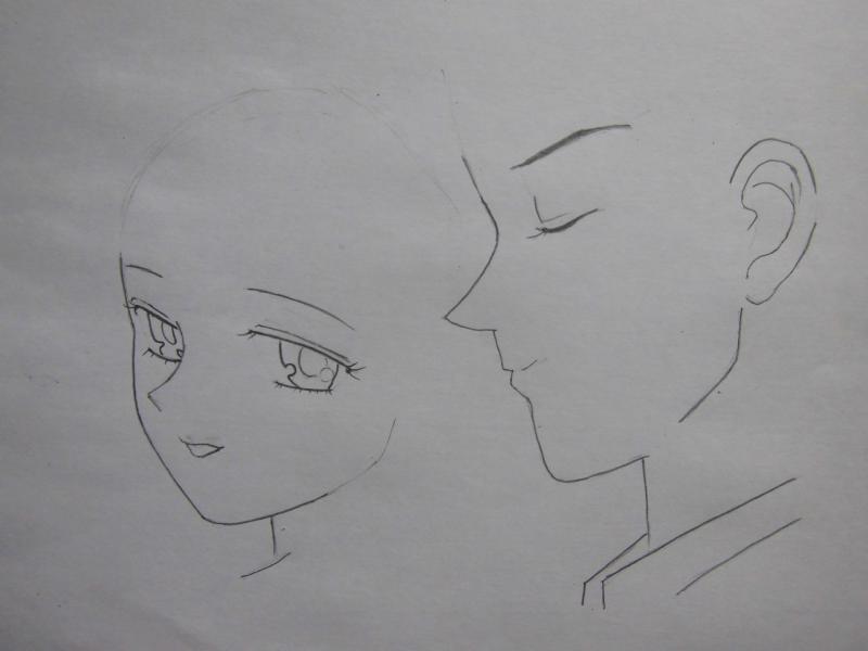 Рисуем Харуки и Мичиру из аниме Сейлор Мун