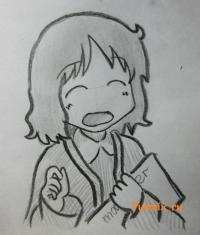 Идзуми Сакураи из аниме Мелочи жизни