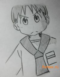 Михоси Татибану из аниме Мелочи жизни