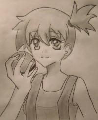 Фото Мисти из аниме Покемоны