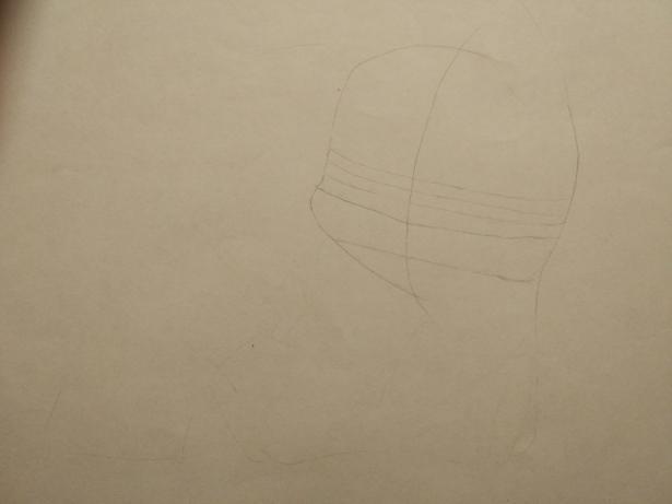 Рисуем раскрасить спящего Пикачу карандашами - шаг 3