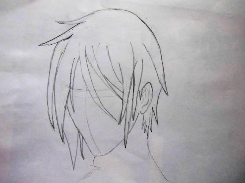 Рисуем портрет Себастьяна - шаг 2