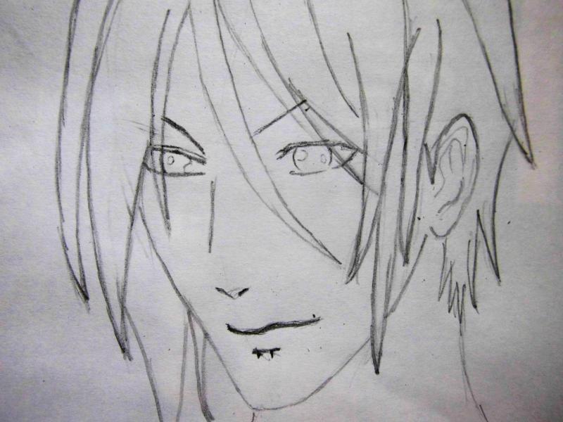 Рисуем портрет Себастьяна - шаг 3
