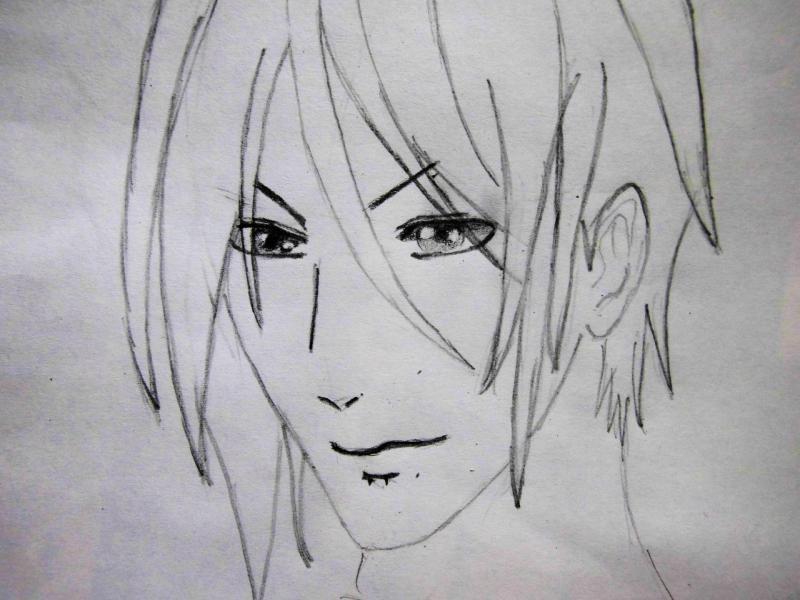 Рисуем портрет Себастьяна - шаг 4