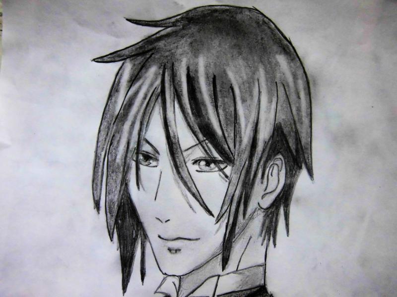 Рисуем портрет Себастьяна - шаг 6