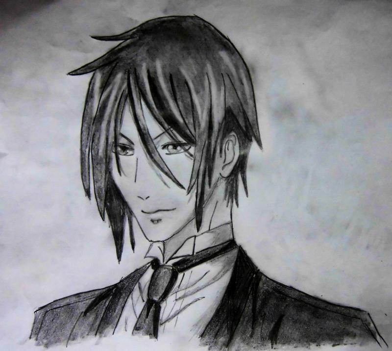Рисуем портрет Себастьяна - шаг 7