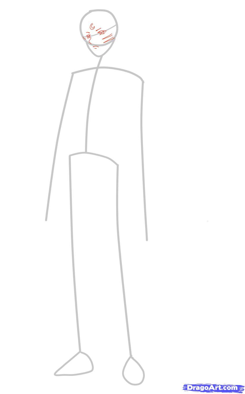 Рисуем Sesshomaru в полный рост