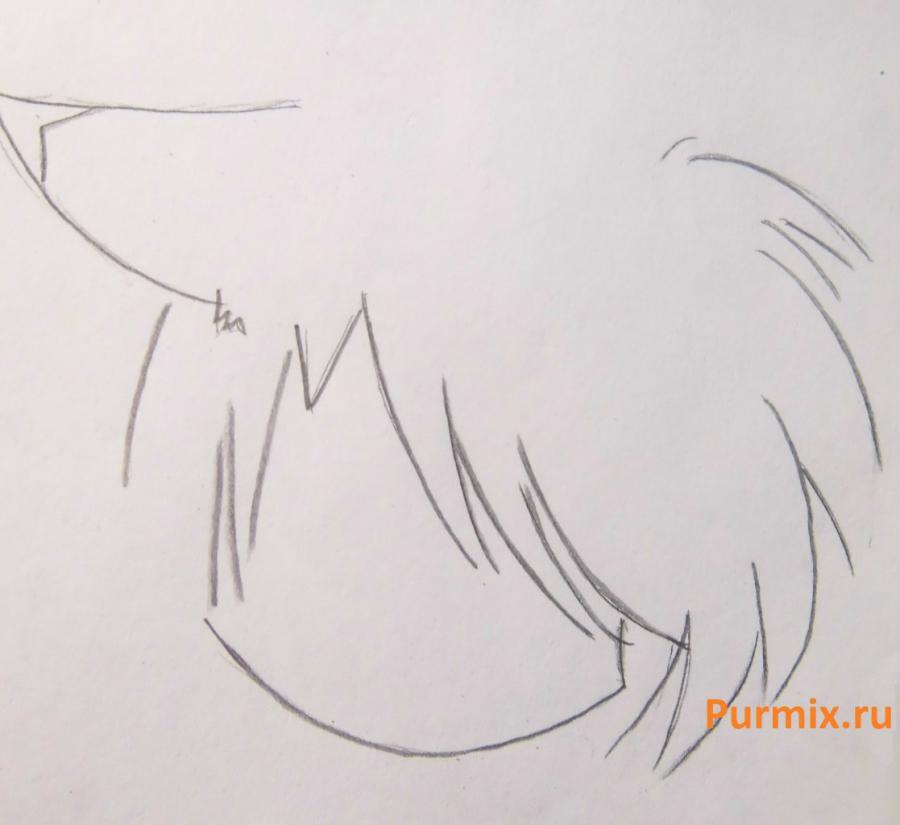 Рисуем стесняшку неко простым - шаг 10