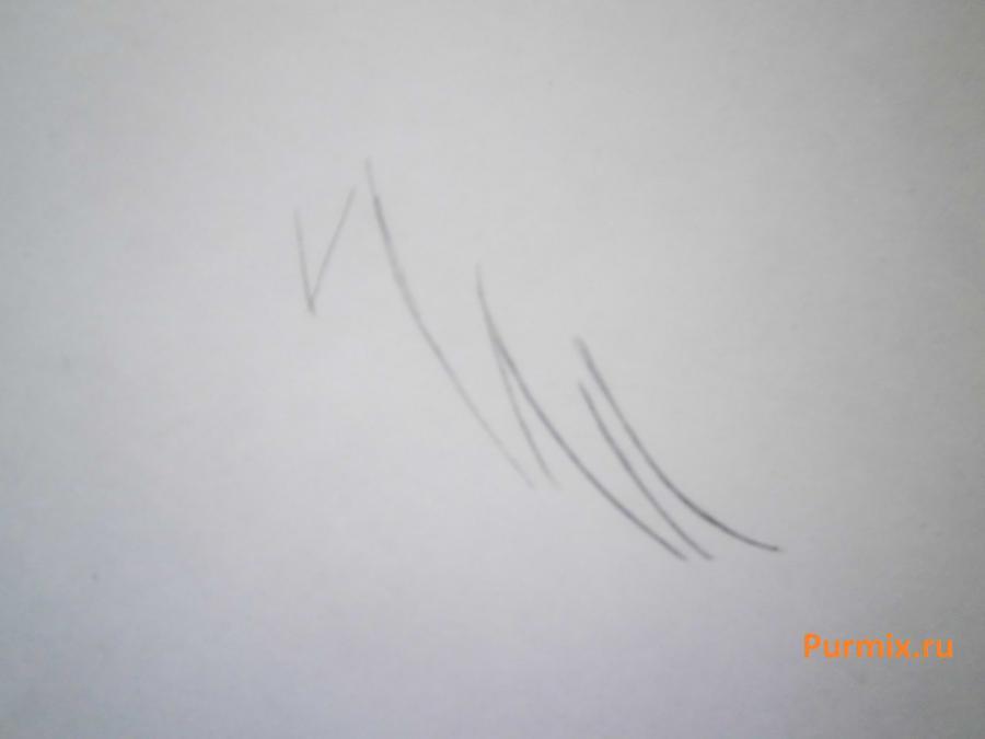 Рисуем стесняшку неко простым - шаг 3
