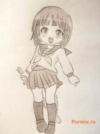 Фото Сугухи Киригая из аниме Мастер меча онлайн