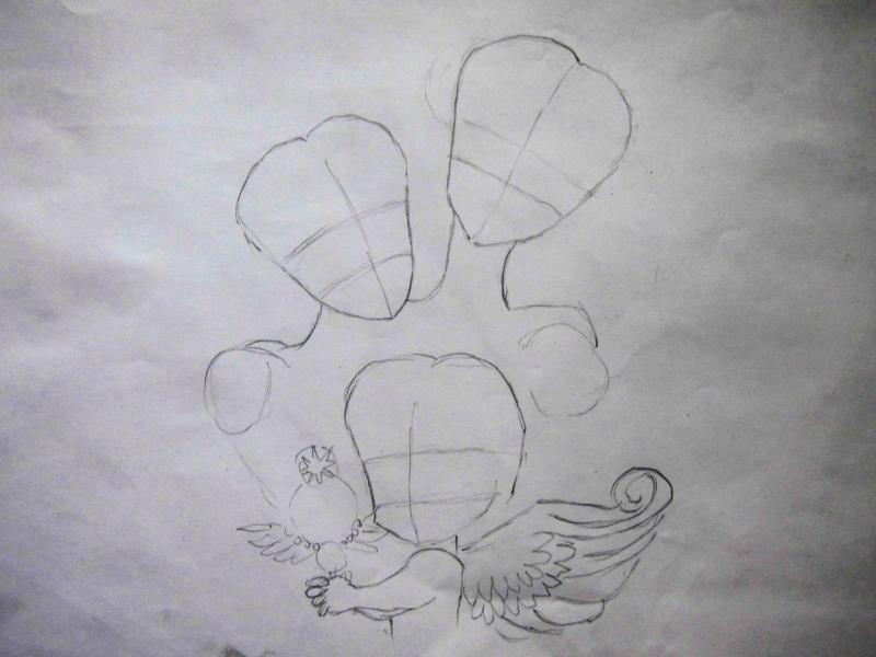 Рисуем Усаги, Малышку, Чиби-чиби