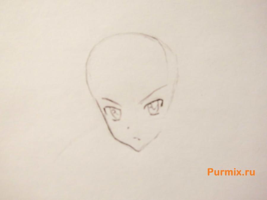 Рисуем Юки Асуну в полный рост - шаг 2