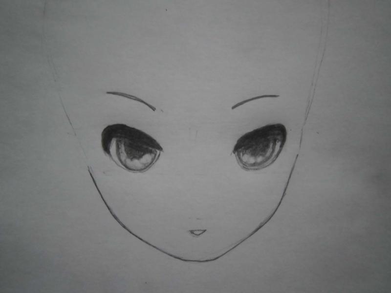 Рисуем фэнтези девушку в наушниках - шаг 3