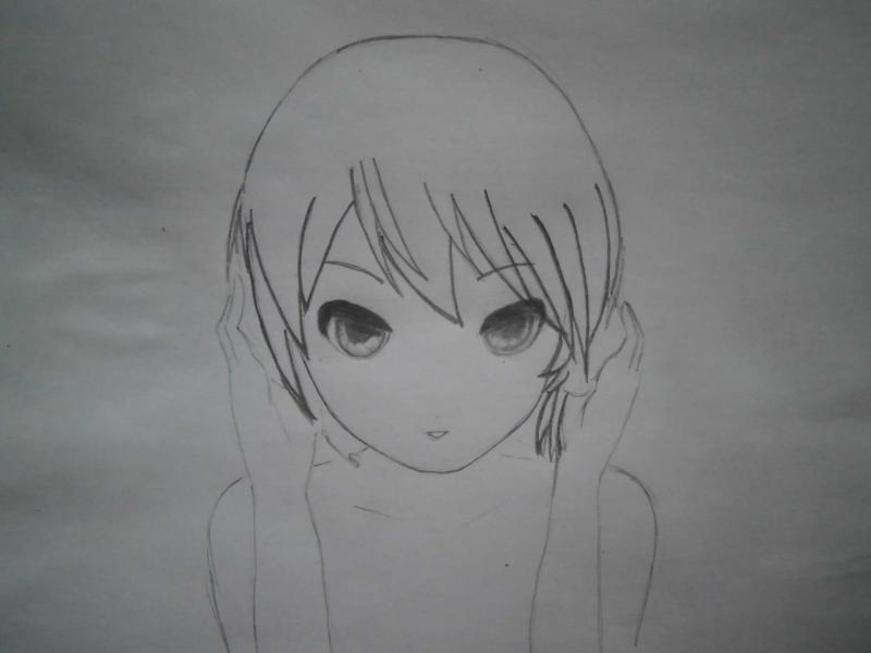 Рисуем фэнтези девушку в наушниках - шаг 4