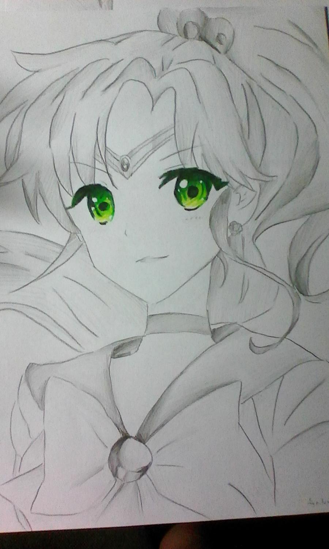 Как раскрасить аниме глаза фломастерами - шаг 8