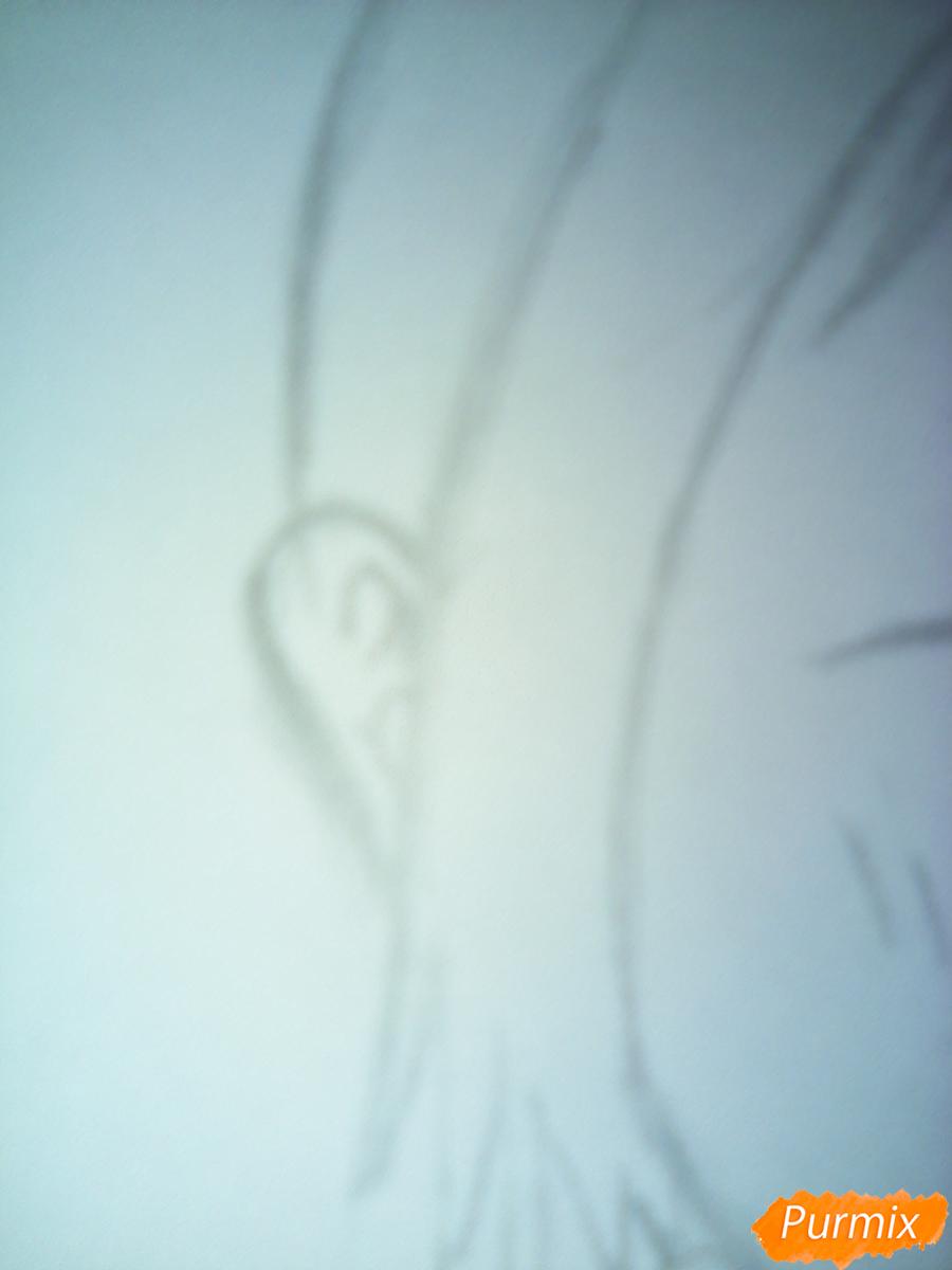 Рисуем улыбающегося Ято - шаг 8