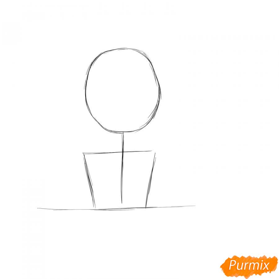 Рисуем бухгалтера - шаг 1