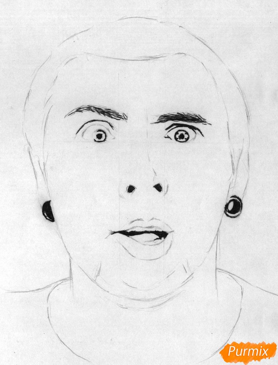 Рисуем портрет Макса из +100500 - шаг 2