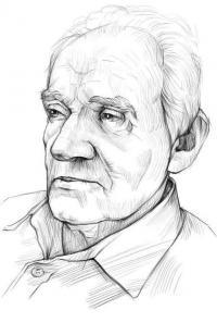 портрет дедушку карандашом