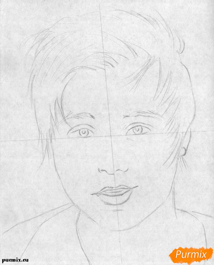 Рисуем портрет Ивангая - шаг 1
