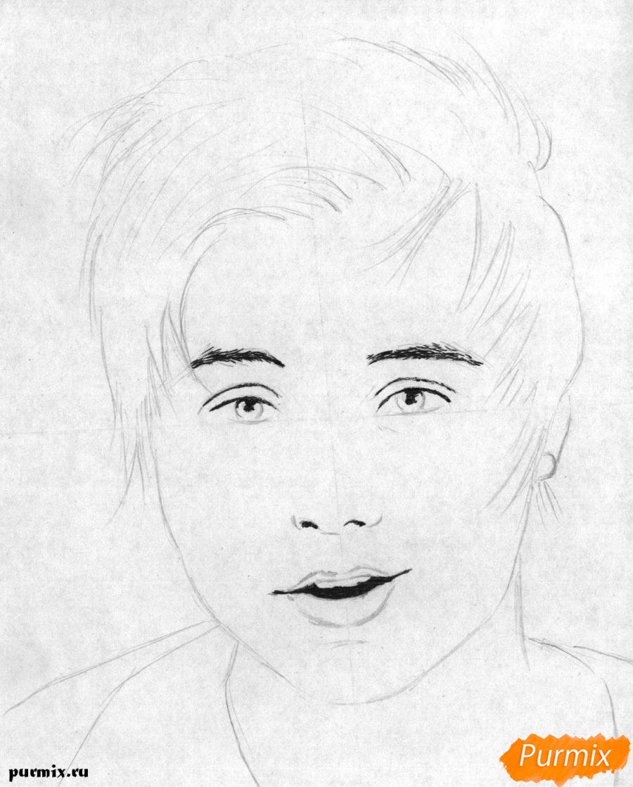 Рисуем портрет Ивангая - шаг 2