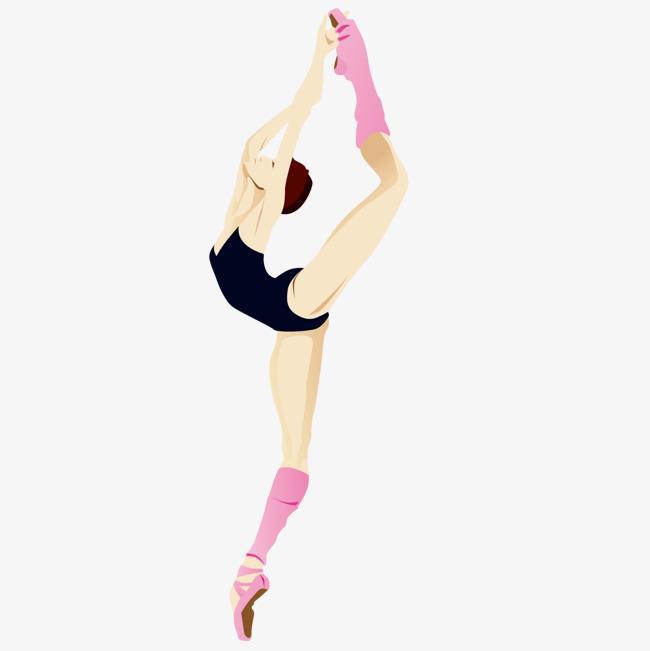 Рисунки гимнасток для срисовки - шаг 5