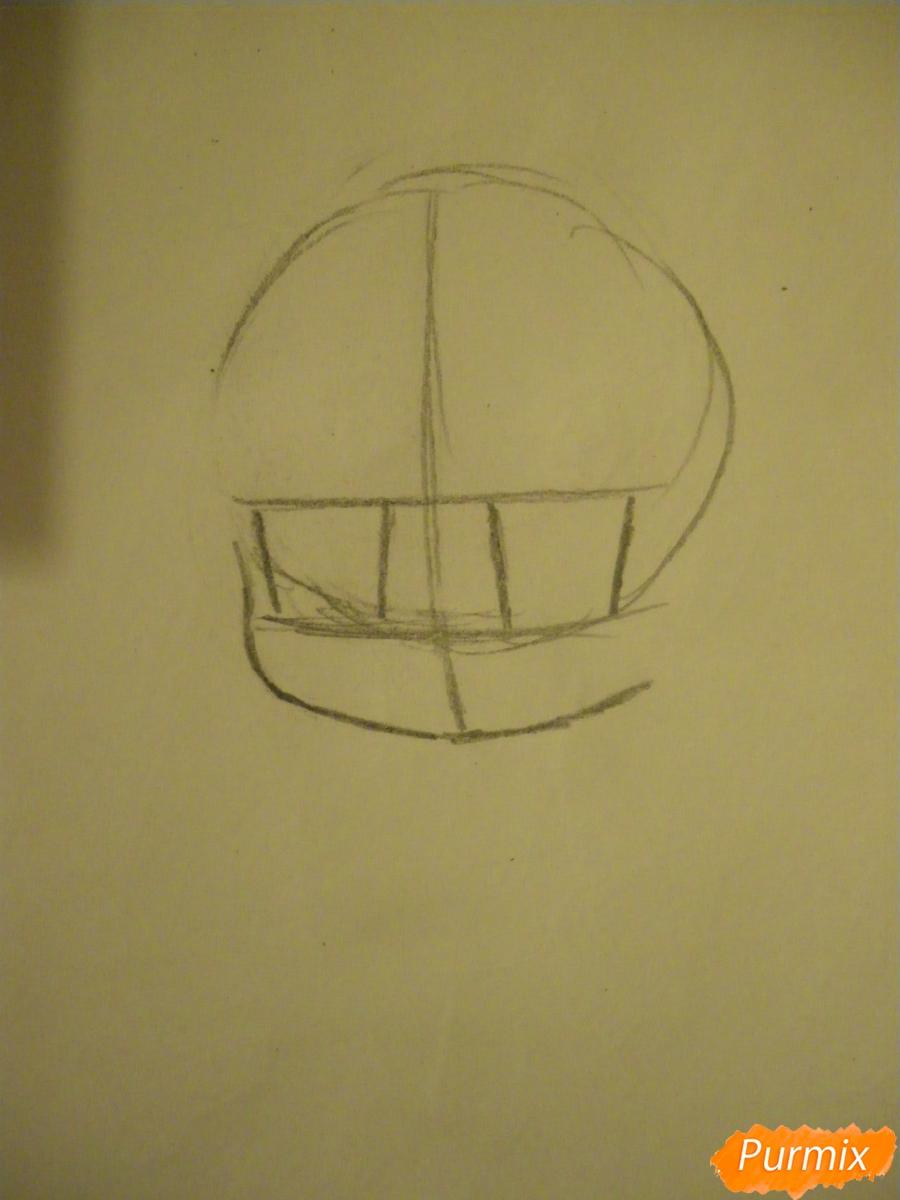 Рисуем чиби ангелочка с Пикачу на голове - шаг 1