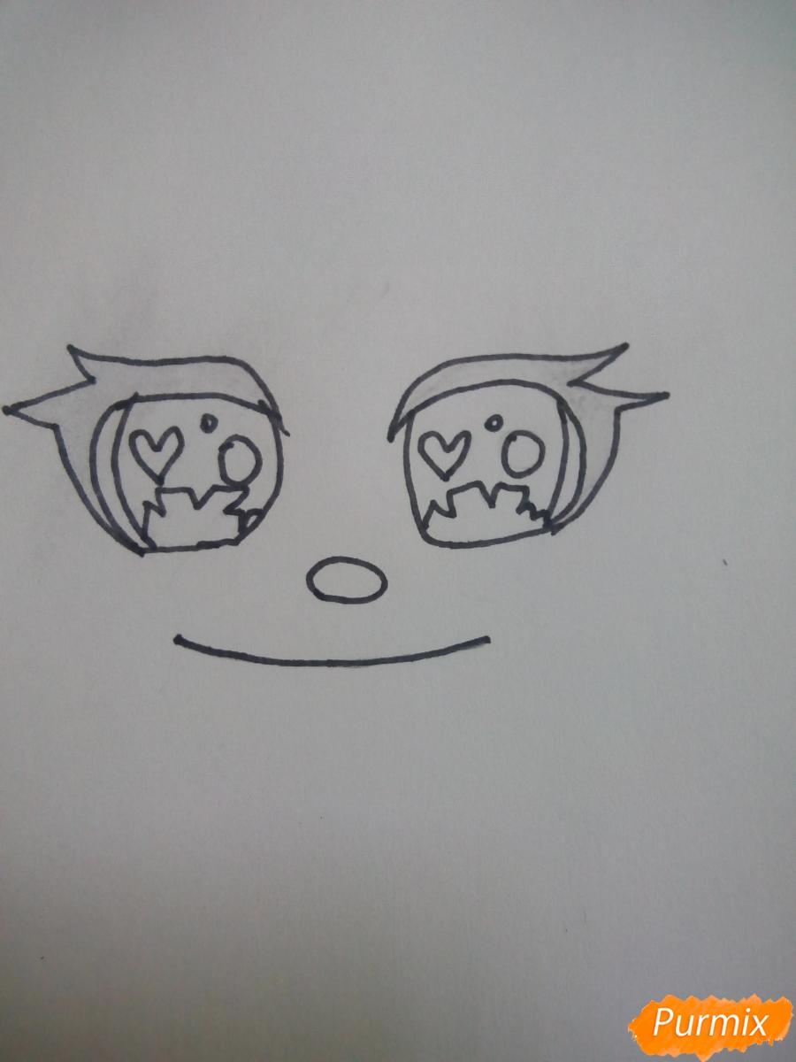 kak-narisovat-miluyu-chibi-devochku-s-bolshimi-glazami-1 Как нарисовать милую чиби девочку карандашом поэтапно