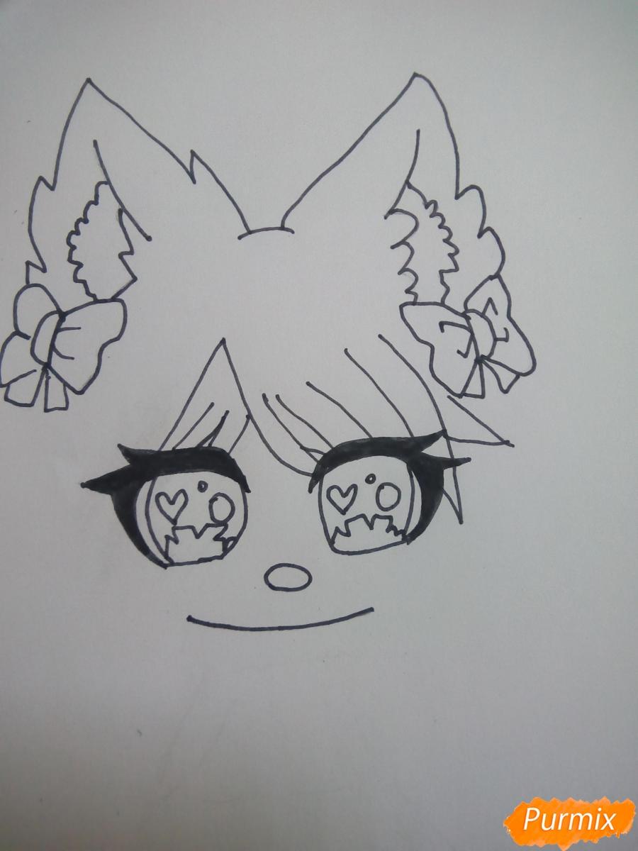 kak-narisovat-miluyu-chibi-devochku-s-bolshimi-glazami-2 Как нарисовать милую чиби девочку карандашом поэтапно