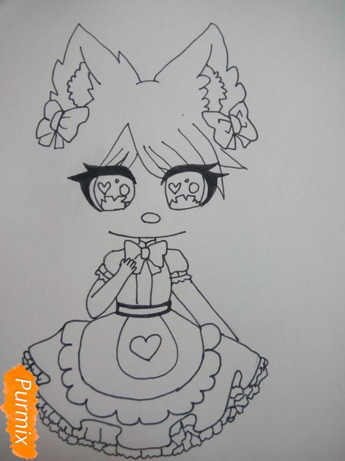 kak-narisovat-miluyu-chibi-devochku-s-bolshimi-glazami-3 Как нарисовать милую чиби девочку карандашом поэтапно