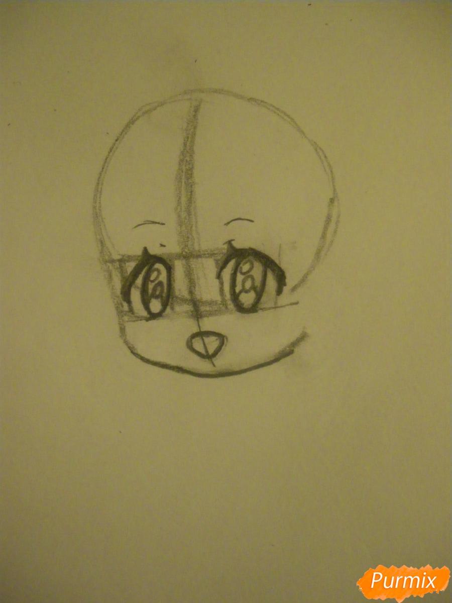 kak-narisovat-miluyu-chibi-devochku-s-dlinnymi-volosami-pojetapno-2 Как нарисовать милую чиби девочку карандашом поэтапно