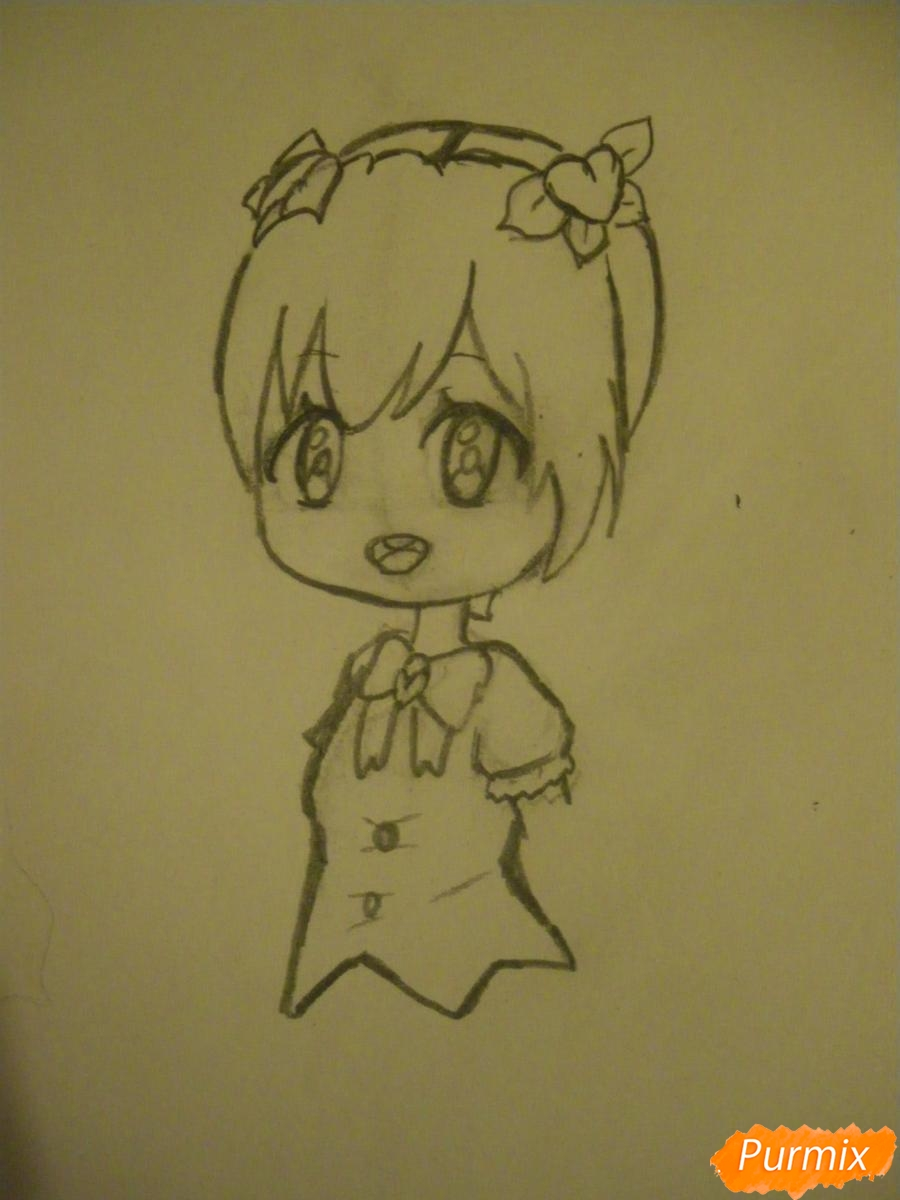 kak-narisovat-miluyu-chibi-devochku-s-dlinnymi-volosami-pojetapno-4 Как нарисовать милую чиби девочку карандашом поэтапно