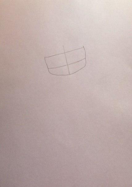 Рисуем девушку кошку в стиле чиби - шаг 1
