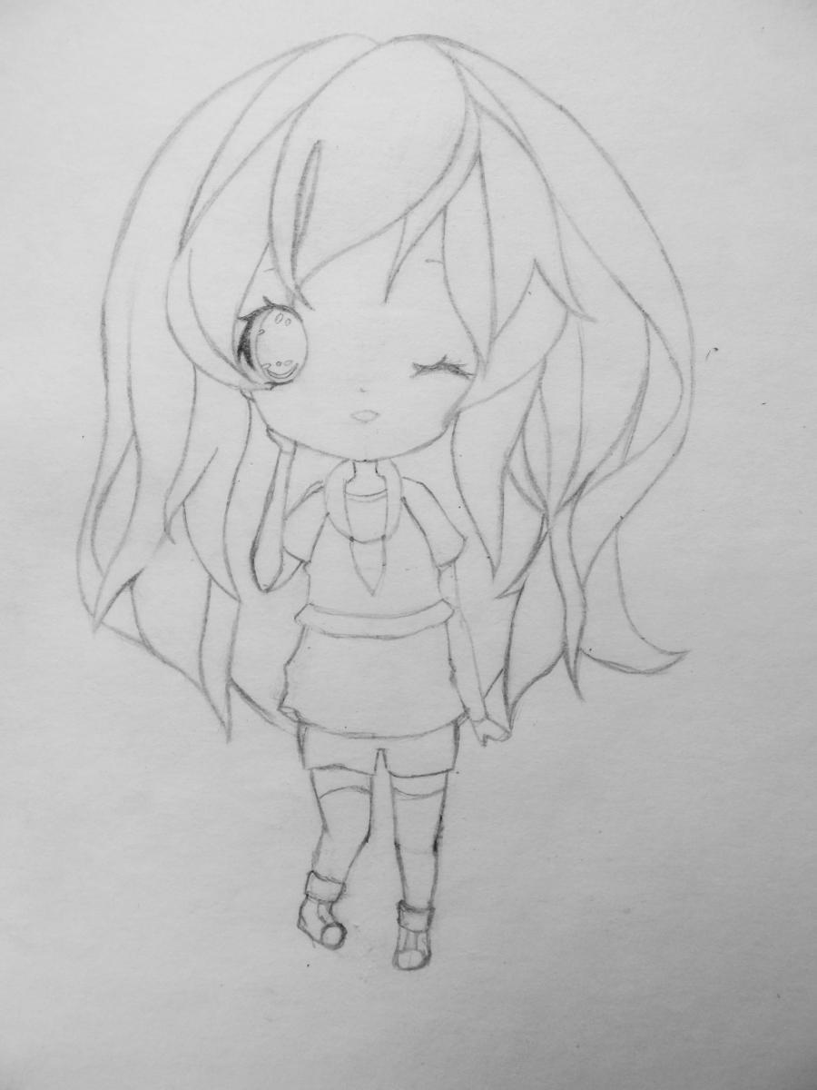 kak_narisovat_i_raskrasit_devochku_v_stile_chibi-4 Как нарисовать милую чиби девочку карандашом поэтапно