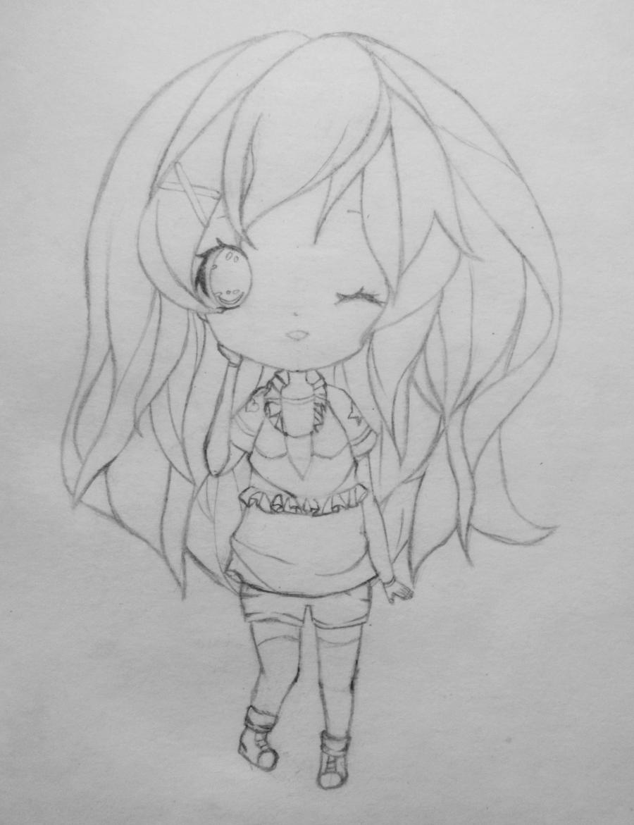kak_narisovat_i_raskrasit_devochku_v_stile_chibi-5 Как нарисовать милую чиби девочку карандашом поэтапно
