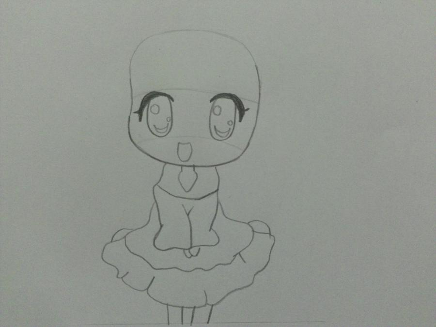 uchimsya_pojetapno_risovat_chibi_devochku_karandashom-2 Как нарисовать милую чиби девочку карандашом поэтапно