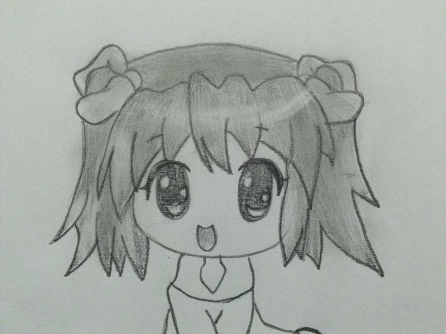 uchimsya_pojetapno_risovat_chibi_devochku_karandashom-5 Как нарисовать милую чиби девочку карандашом поэтапно