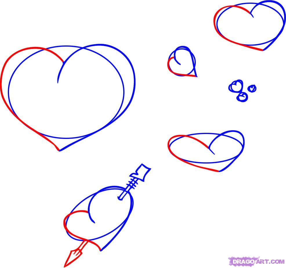 Рисуем сердца