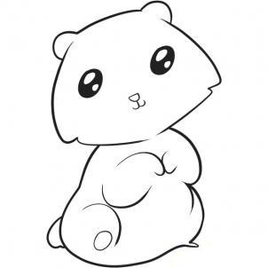 медведя ребенку карандашом